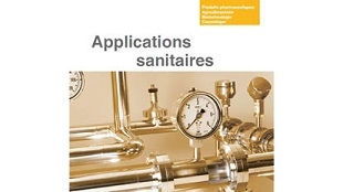 Nouvelle brochure Applications Sanitaires !